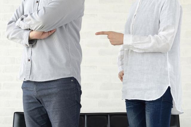 夫婦の口論